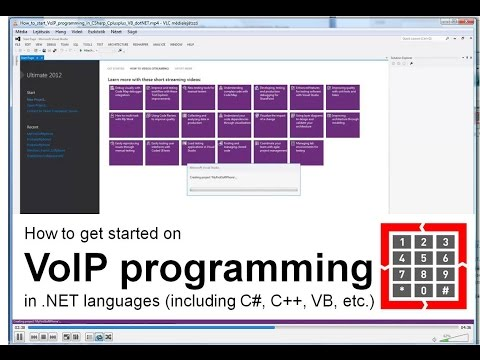 How to get started on VoIP development in .NET languages (in
