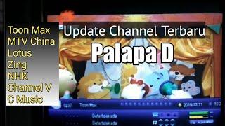 Update Channel Terbaru Palapa D FTA