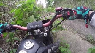 Novato na TRILHA DO TATU 1- Trilha de moto