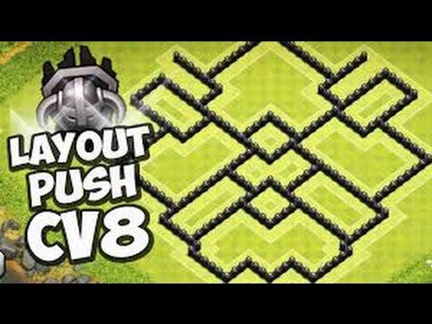 Melhor Layout CV8 De Push ( Muito Eficiente )