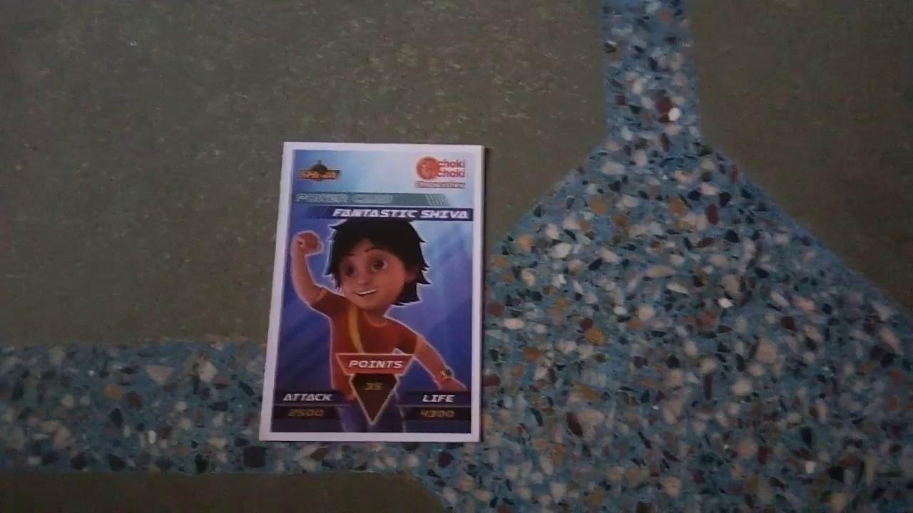 All Choki Choki Shiva Game Cards For Bicycle Contest To