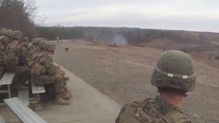 TOW Missile, SMAW, M240B, M2, MK19: USMC Machine Gun Defense