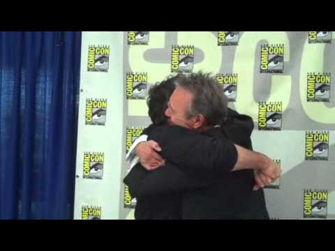 Comic Con EXTRA Nick Brendon surprises Anthony Head