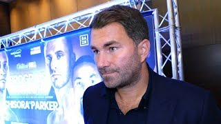Eddie Hearn REACTION TO CHISORA TIRADE: Main event COULD CHANGE
