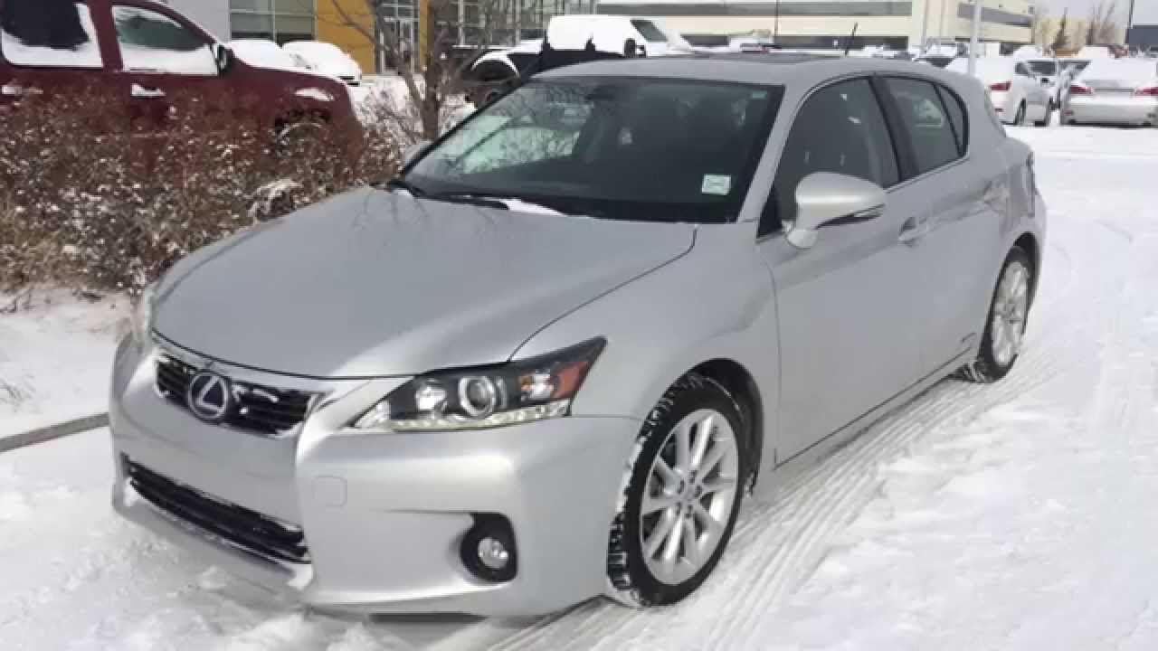 Lexus Certified Pre Owned Silver 2011 CT 200h Hybrid   Premium Package  Review