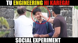 Family Forces Child To Do Engineering/Doctor|Social Experiment In India|YouEntertainer
