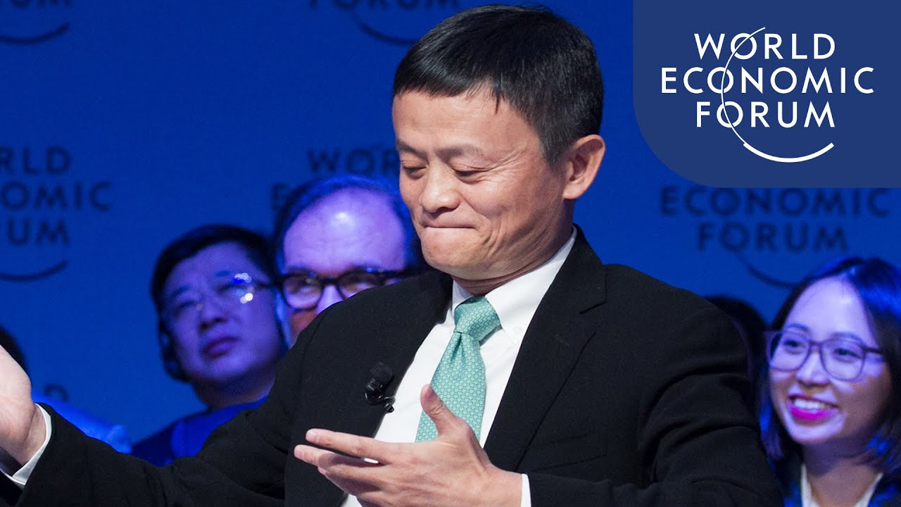 Jack Ma You Re Supposed To Spend Money On Your People Youtube