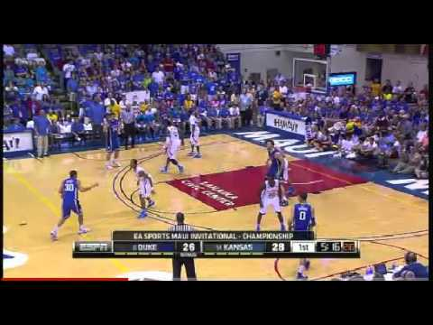 Thomas Robinson poster-dunk against Duke