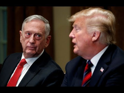 Defense Secretary Mattis resigns, citing differences over th