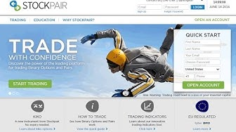 StockPair Review: Expert Review of the StockPair Binary Options Platform