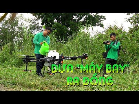 MÁY BAY RA ĐỒNG! Tiềm năng và Triển vọng của Drone Nông nghiệp tại đồng bằng sông Cửu Long.