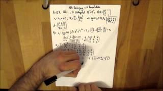 Mathematik - QR-Zerlegung mit Householder berechnen