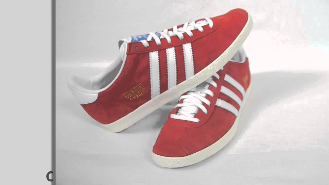 adidas originals gazelle og red