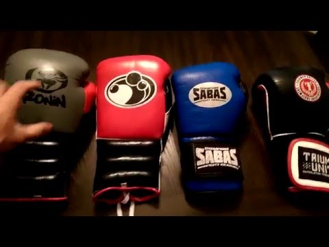 Glove Comparison: Grant, Sabas, Top Boxer, Triumph