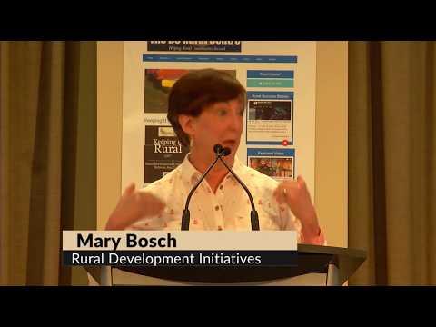 Mary Bosch, of Oregon-based Rural Development Initiatives, on rural economic vitality