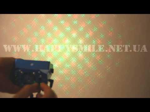 Mini Laser stage lighting SD-09 – проектор для создания эффектов лазерного шоу от happysmile.net.ua