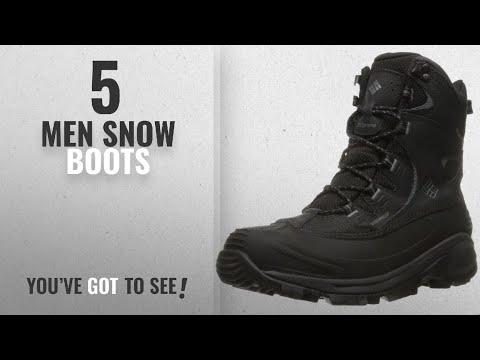Columbia Snow Boots [ Winter 2018 ]: Columbia Men's Bugaboot II Snow Boot, Black, Charcoal, 11.5 D