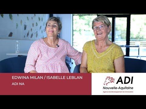 Isabelle LEBLAN et Edwina MILAN - ADI Nouvelle-Aquitaine
