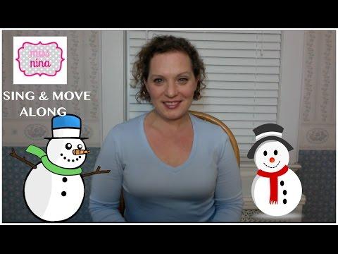 Children's Song: I'm A Little Snowman - Sing & Move Along - Winter Preschool Song