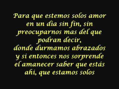 Tu Amor Me Hace Bien (english lyrics) - musica.com
