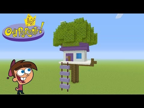 Minecraft Tutorial: How To Make Timmy Turners Tree House