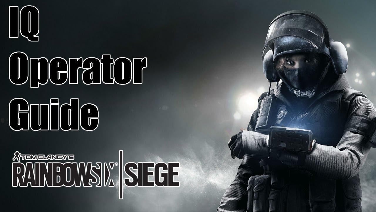 IQ Operator Cinematic Unlock Video Rainbow Six Siege 2015