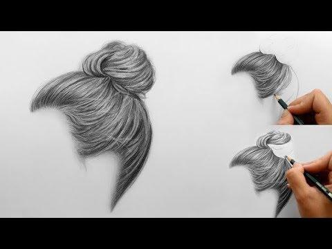 64 Gambar Arsiran Rambut Terbaik