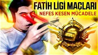 FATİH LİGİ MAÇLARI   PUBG Mobile Fatih Liginde Neler Oluyor v2 (Türkçe) w/KAOS TEAM
