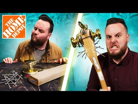 DIY Home Depot Weapon Challenge!
