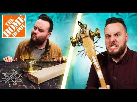 DIY Home Depot Weapon Challenge!