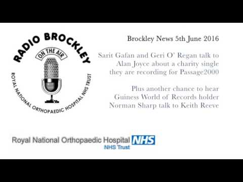 Brockley News - Sarit Gafan and Geri O' Regan Charity Single