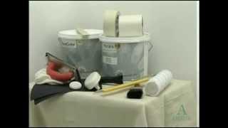 Технология нанесения краски Perlata