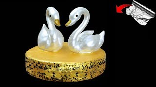 Easy Showpiece making at foil paper || Gift items Showpiece making at home