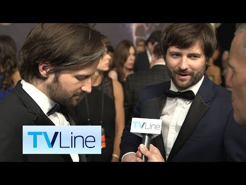 "Matt and Ross Duffer ""Stranger Things"" Interview at Emmys 2017   TVLine"