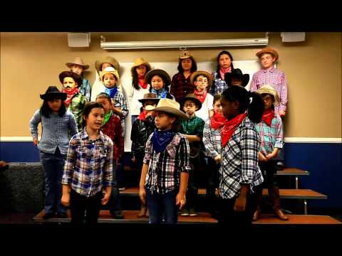 Gold Dust or Bust 4th Grade Musical
