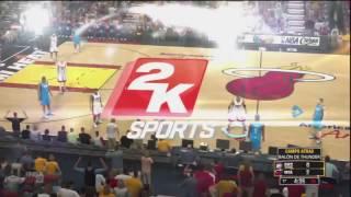 NBA 2K13 DEMO PS3 Gameplay