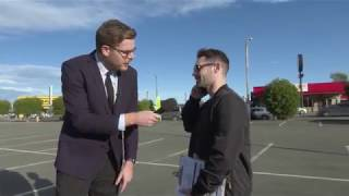 Guy Williams goes to Napier to find out why there are two countdown supermarkets next to each other
