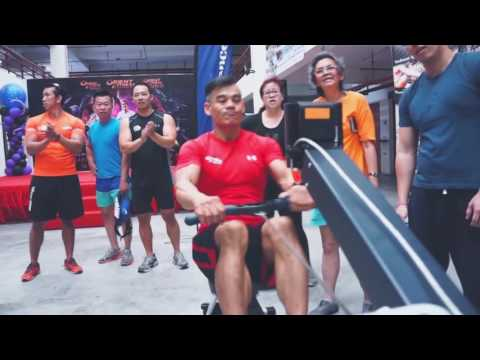 Full Video 2016 Orient Fitness Penang Indoor Rowing Championship, Malaysia