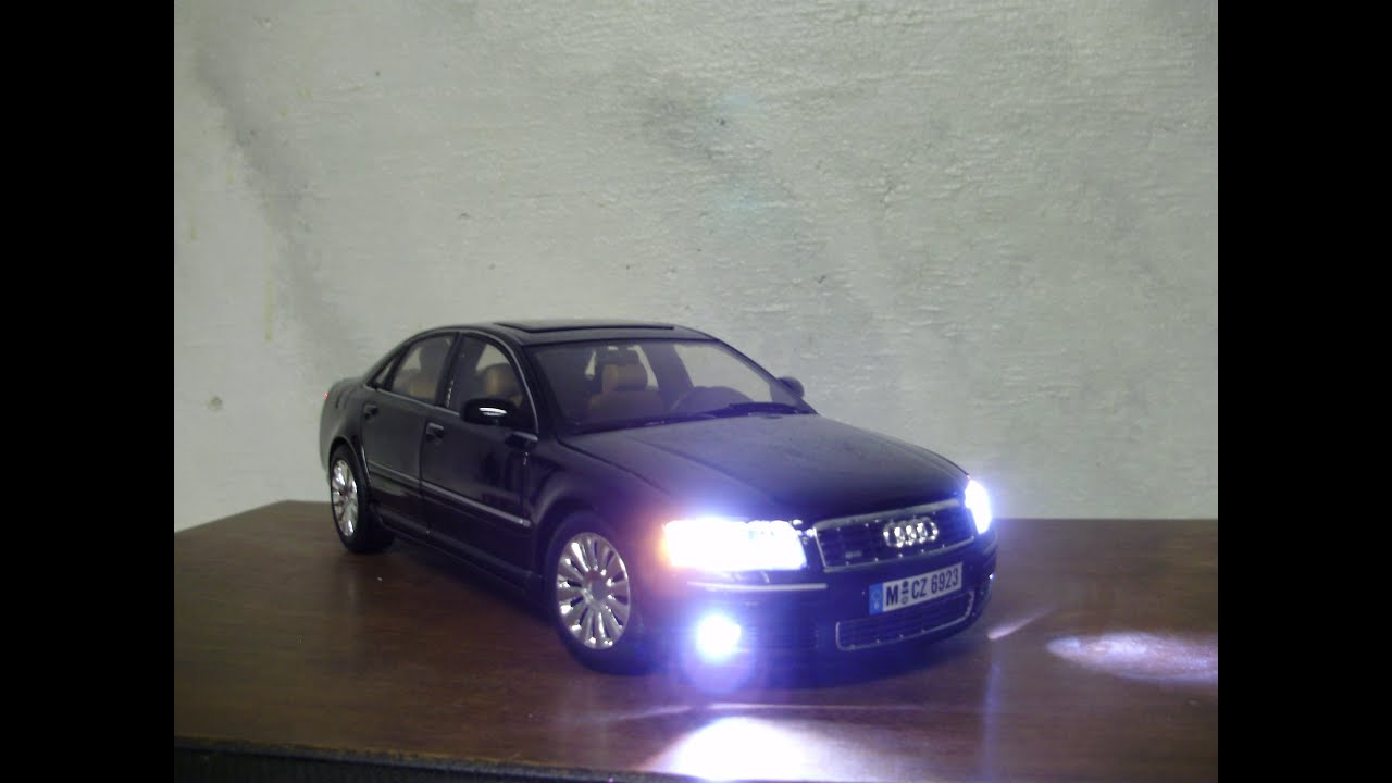 Custom 18th scale 2004 AUDI A8 Quattro cast model with working ... on amazing custom cars, infiniti g37 custom cars, chevy hhr custom cars, mini cooper custom cars, chrysler sebring convertible custom cars, chrysler 300 custom cars, bmw 7 series custom cars,