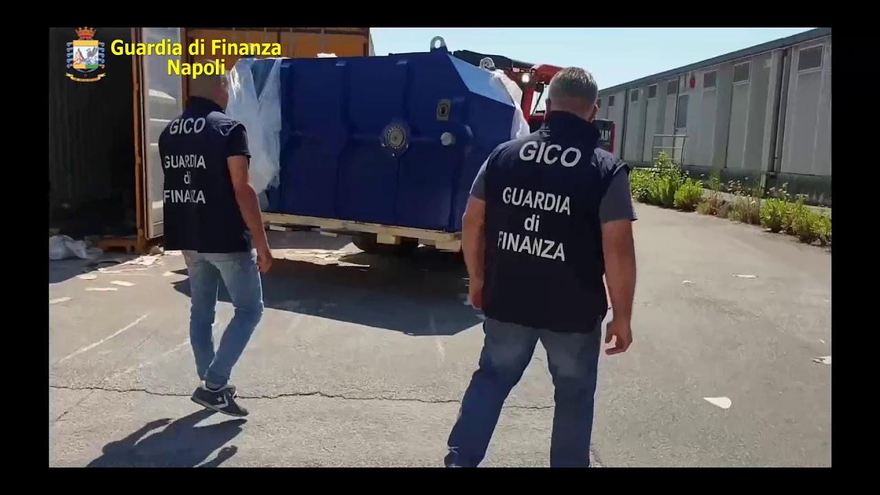 Sequestro a Salerno: 14 tonnellate di droga prodotta dall'Isis per finanziare il terrorismo