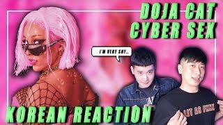 🔥eng Korean Rappers React To Doja Cat - Cyber Sex🔥