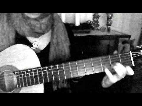show how to play beautiful lies with guitar
