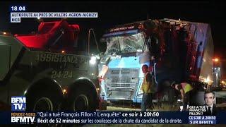 Aisne: le chauffeur du camion a utilisé son portable avant l
