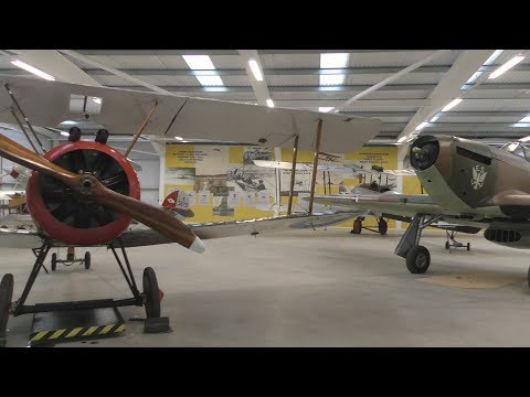 Prince Michael of Kent opens Brooklands Aircraft Factory & Flight Shed