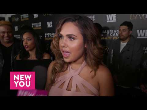 Kristinia Debarge at the 'Marriage Boot Camp' and 'L.A. Hair' Premiere
