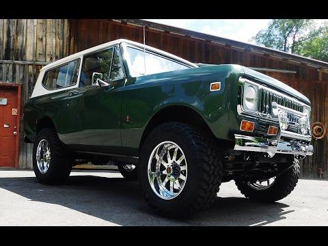 1975 International Scout II B Rod Or Custom Pro Auto Custom Interiors