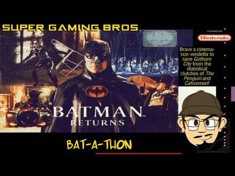 SGB Play: Batman Returns (SNES) - Part 1