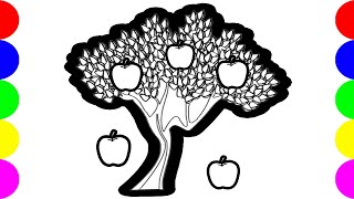 Apples Tree Drawing Pictures Clip Art Images For Kids Toys!