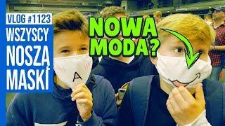 WSZYSCY NOSZĄ MASKI - NOWA MODA? / VLOG #11124