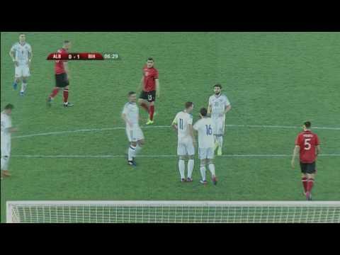 PRVO POLUVRIJEME: Albanija - Bosna i Hercegovina 0:2 (šanse i golovi)
